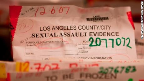 In thousands of sex asault cases, evidence isn't being tested