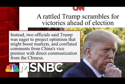 Trump Doubles Down On Wrong Dorian Information   Morning Joe